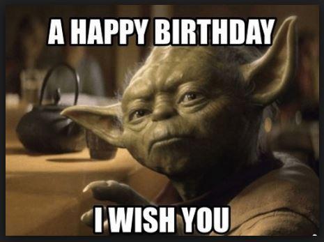 star wars happy birthday funny
