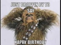 star wars happy birthday images