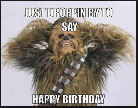 star wars happy birthday images