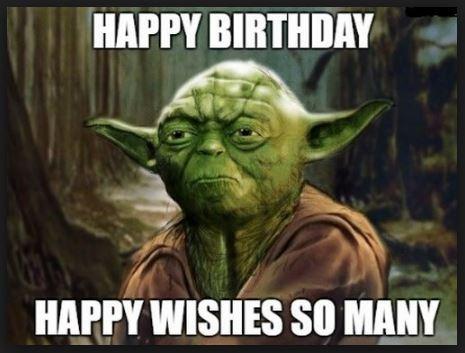 star wars happy birthday wishes