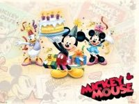 Mickey Mouse Birthday Wallpapers