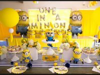 homemade minions decoration