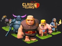 COC heros wallpapers