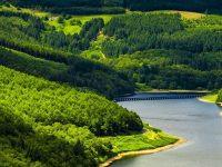 1080x2280 Beautiful River Mountains Wallpaper