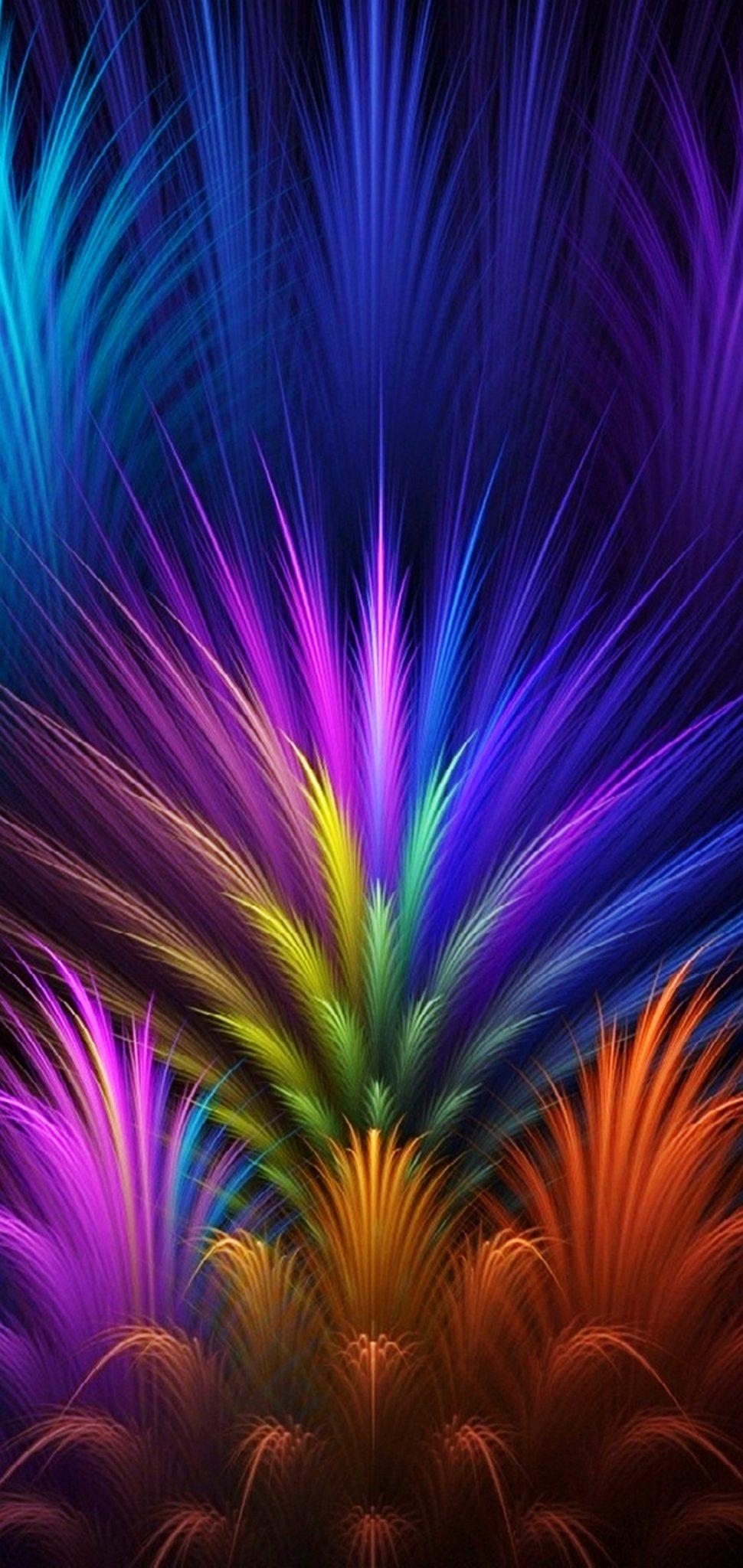 Abstract Colors hd Wallpaper 1080x2280