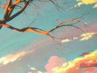 Artistic Landscape Free Wallpaper 1080x2280
