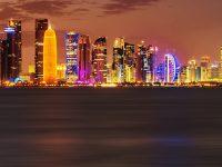Doha City HD Wallpaper 1080x2280