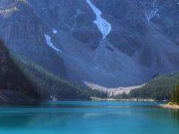 Moraine Lake 4K Ultra Wallpaper 1080x2280