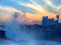 Niagara Falls hd Wallpaper 1080x2280
