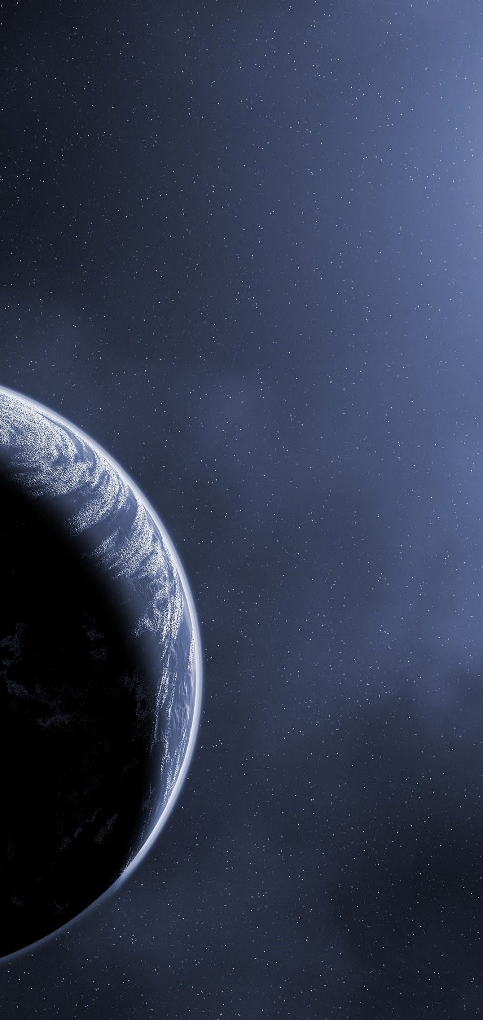 Scientific Planet Galaxy Space Stars Wallpaper 1080x2280 scaled