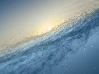 Scientific Space Planet Galaxy Stars Wallpaper 1080x2280