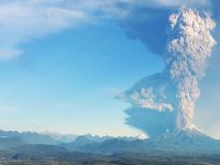 Volcano HD Wallpaper 1080x2280