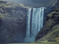 Waterfall Landscape background 1080x2280