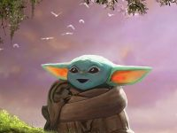 baby yoda wallpaper cartoon