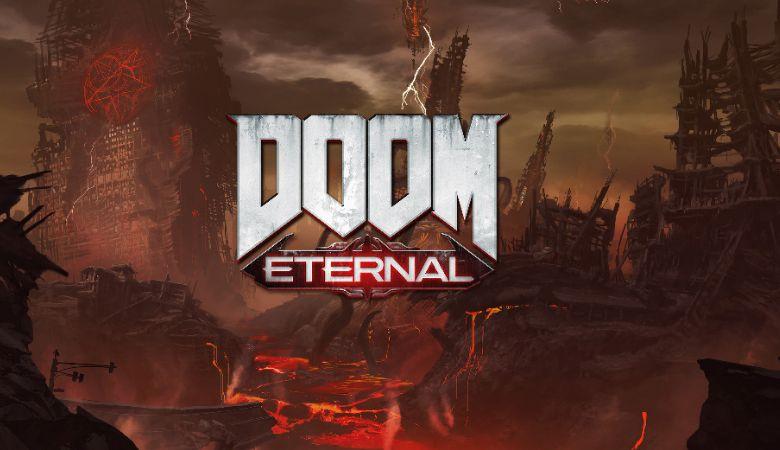 doom eternal wallpaper background