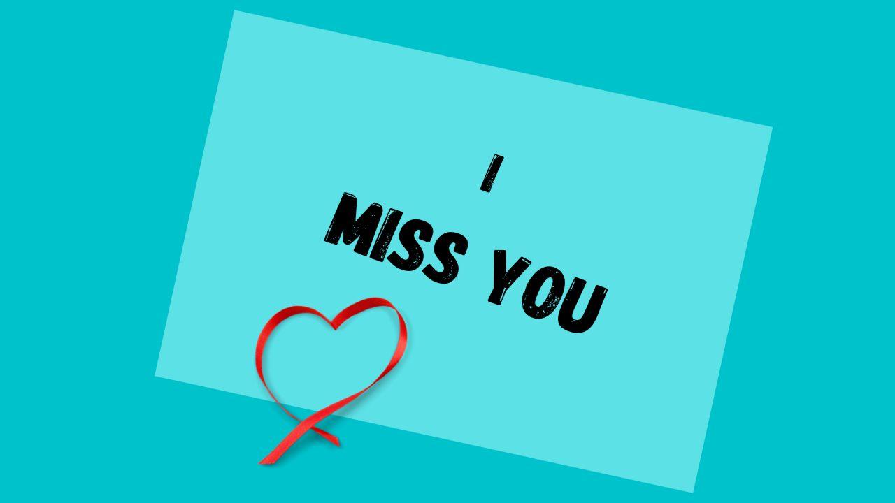 miss u wallpaper